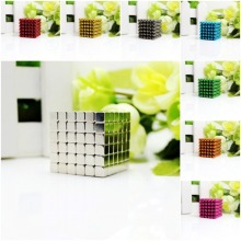 216pcs 5mm neodymium blocks magnetic balls spheres beads magic cube - vacuum package.