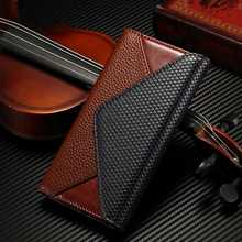 Leather Wallet Case For Samsung Galaxy S7 / S7 Edge Luxury Envelope Fold Pouch For Samsung S7 Edge Flip Case With Card Slots