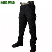 Hong wild IX9 Soft Shell Military Men Waterproof Heat Reflection Trousers