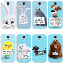 The Secret Life of Pets Hard Transparent Cover Case for Galaxy S7 Edge S6 S8 Edge Plus S5 S4 S3 & Mini S2