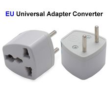 US AU UK To EU Plug Adapter Australia America To European Universal AC Travel Power Adapter Converter Outlet