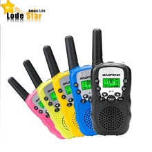 2PCS Baofeng BF-T3 Mini Walkie Talkie 0.5W UHF462-467MHz Two Way Radio 22CH T3 Portable Transceiver Toy Radio For Kids Children