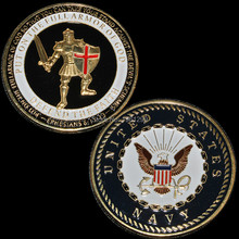 US Navy Armor of God Challenge Coin 100pcs/lot DHL Free shipping