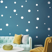 DIY Home Decoration Accessories Bedroom Living  Children's Room Wall Simple And Creative Multi-size Dots Removable Wall Stickers