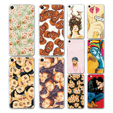New Arrival Cartoon Grid & Expression Painted Case Cover For Meizu U10 U 10 Fundas Capa For Meilan U10 Hard Plastic phone case
