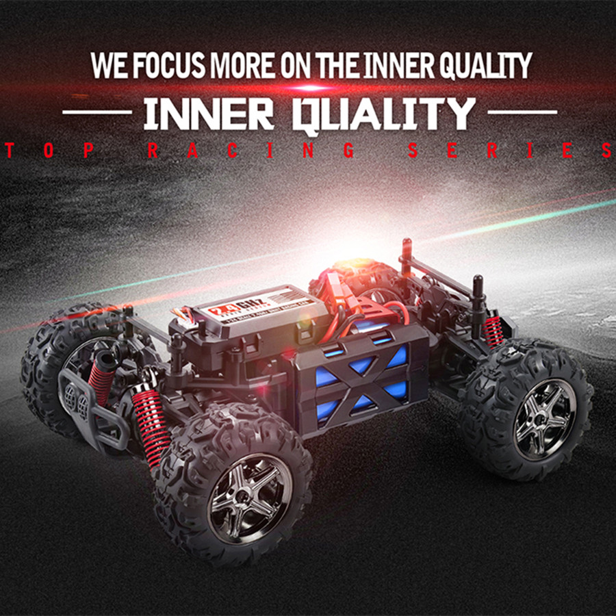 all terrain rc car 40kmh 124 scale radio controlled electric car best gift for kids and adults 24ghz 4wd remote control truck