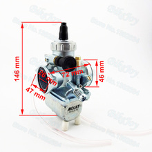 26mm Molkt Carburetor Carb Carby for 110cc 125cc 140cc 150cc Chinese Pit Dirt Bike ATV Quad Buggy Go Kart Motorcycle Motocross