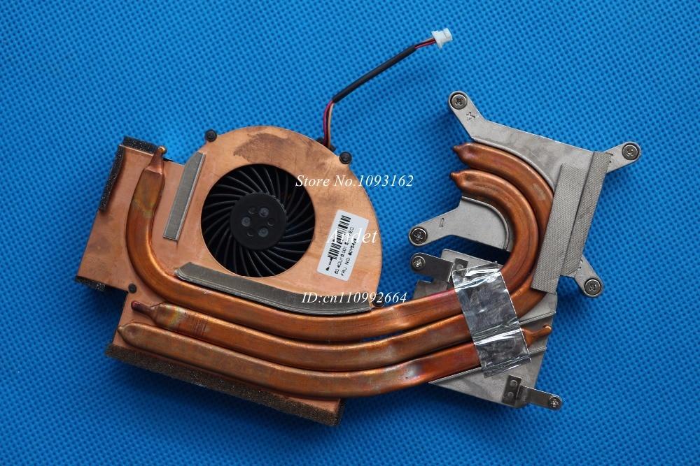 New Original for Lenovo ThinkPad W510 Heatsink CPU Cooler Cooling Fan Cooler Discrete Video 60Y5493 60Y5494<br>