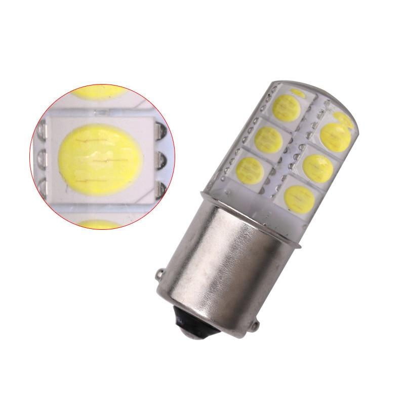 1pcs-S25-1156-BA15S-p21w-LED-White-Lights-5050-12SMD-Silica-gel-DC-12V-Car-Rear