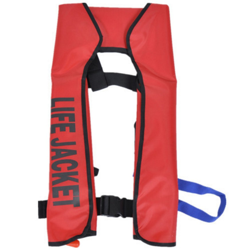 Inflatable lifejacket Fishing Vest Automatic inflatable CO2life jacket PFD for Adult man life-vest more than 150N Buoyancy <br><br>Aliexpress