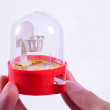 Mini handheld finger ball hand basketball hoops shooting puzzle toy for children exercise ability table toy random colors(China)