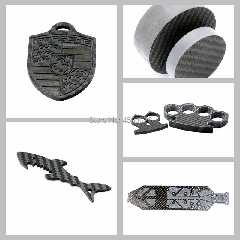 CNC carbon fiber panel