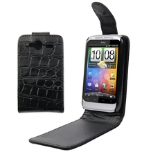 For HTC Wildfire S / G13 Leather Case