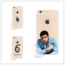 2017 New Drake fashion Hotline jewelry bling cell phone case cover Case For Apple iPhone 7 Plus 4S 5 5S 5C 6 6S 6 Plus  6S Plus