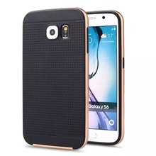 Amazing case For Samsung Galaxy S6 G920 G920F G920i S6edge G9250 G925F s6edge plus S7 PC+silicone luxury mobile phone back cover