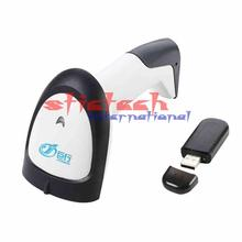by dhl or ems 10pcs Wireless barcode scanner gun express single dedicated Retail Stores bar code reader with function of storage(China)