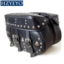 HZYEYO  Motorcycle bag for Harley style cruise package Knight Prince for Kawasaki Vn900 D802 Free Shipping