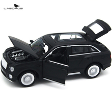 High Simulation Exquisite Bentley 1:32 Zinc Alloy ABS Car Toys Metal Pull Back Sound& Light Mini Model Car Toy Collection Gift