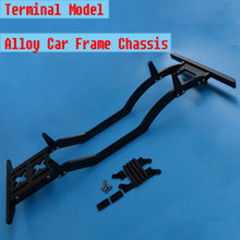 New Alloy Frame Chassis for1/10 RC Defender D90 scx10 Rock Crawler Wrangler Jeep