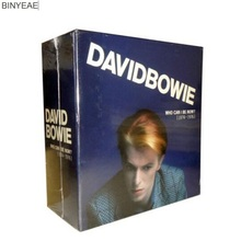 HS-01 new seal: David Bowie who can i be now 1974-1976 12CD light disk [free shipping](China)