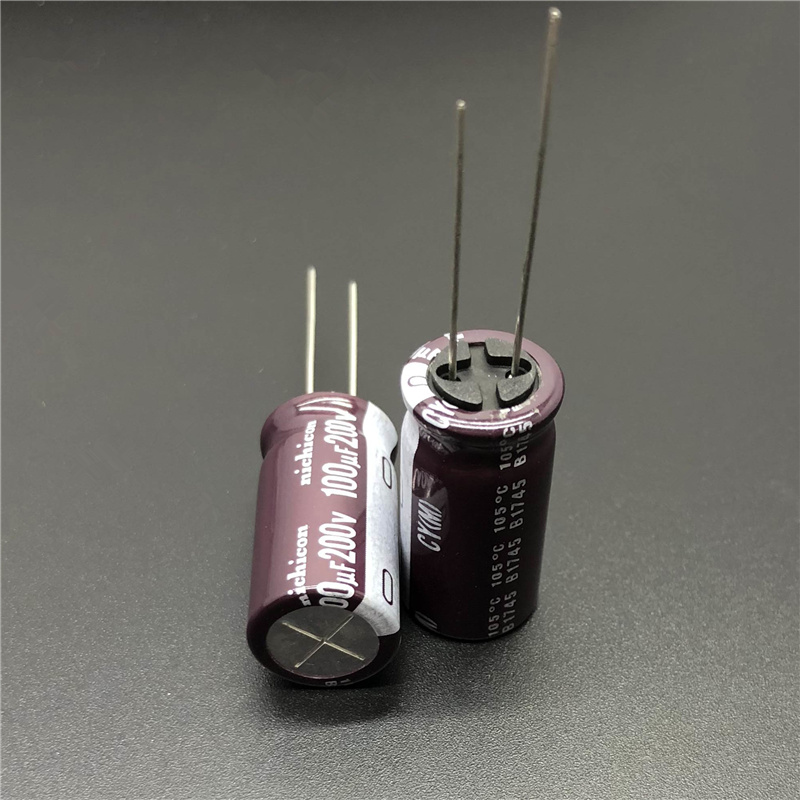 LONG LIFE electrolytic caps 105c 12 pcs 100uf 100v Nichicon LOW ESR L