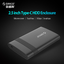 ORICO 2.5 inch USB 3.1 Gen 1 Type-C To SATA 3.0 Super Speed HDD Case Free Tools HDD Enclosure-( 2538C3 )(China)