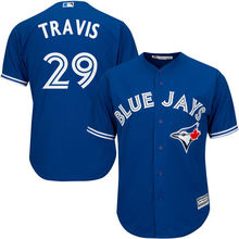 MLB Men's Toronto Blue Jays Devon Travis Baseball White Home Cool Base Player Jersey(China)