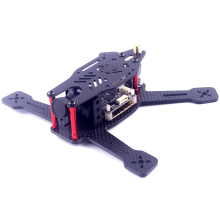 DIY 130 FPV Racing Drone Mini Quadcopter Carbon Fiber Frame Kit For Grashopper 130  RX130 (Not Included camera Flight Control )