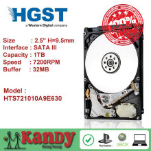 HGST Travelstar 1TB hdd 2.5 SATA 7200rpm disco duro laptop internal sabit hard disk drive interno hd notebook harddisk 9.5mm