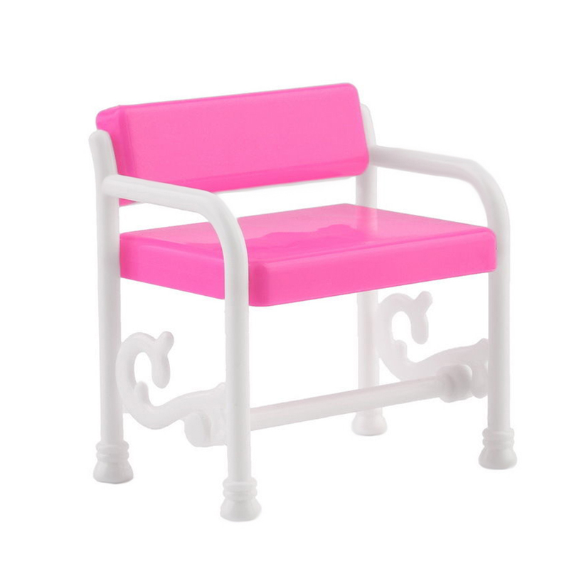Dressing Table Chair Accessories Miniature And Set For Barbie Dolls Furniture Toy In Toys From Hobbies On