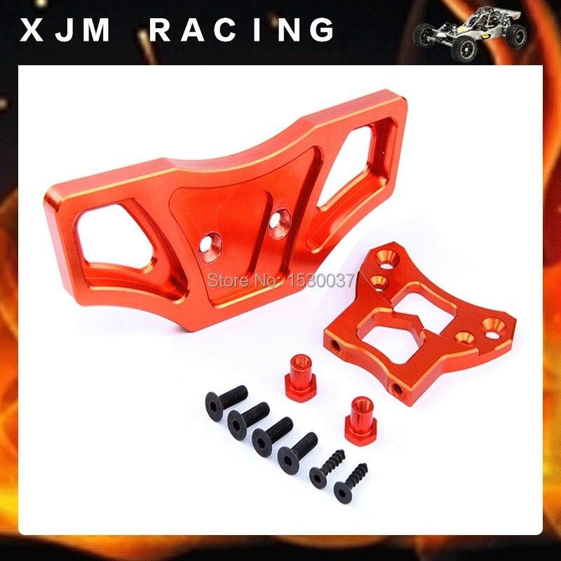 1/5 rc car racing parts,CNC Alloy Front Bumper for 1/5 scale HPI ROVAN Baja 5B/5T/5SC truck<br>