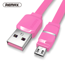 Buy REMAX Breathe LED Micro USB data cable 2.1A fast charging sync Transfer Flat charger cable smart samsung/xiaomi for $3.82 in AliExpress store