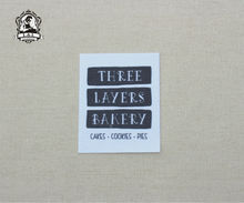 20 Custom brand labels,Custom Tags Printed on Organic Cotton Fabric, personalized iron on tag