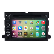 "7"" Android 5.1 Quad Core Car Radio DVD GPS Navigation Central Multimedia for Ford Explorer Mustang Fusion Edge Escape Expedition"