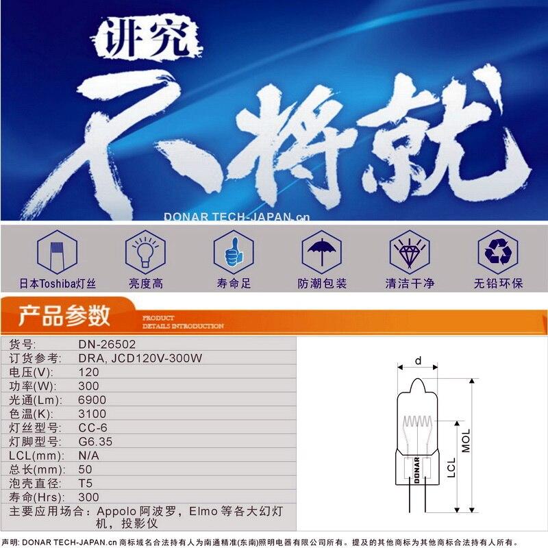 CP81 Lámpara GY9.5 FKW 230v 300w
