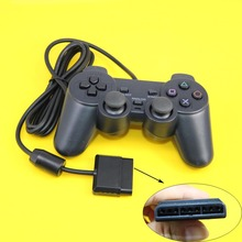 JCD Wired Game Controller JoyPad for PS2 Game Joystick Gamepad For Sony Playstation 2 Console(China)