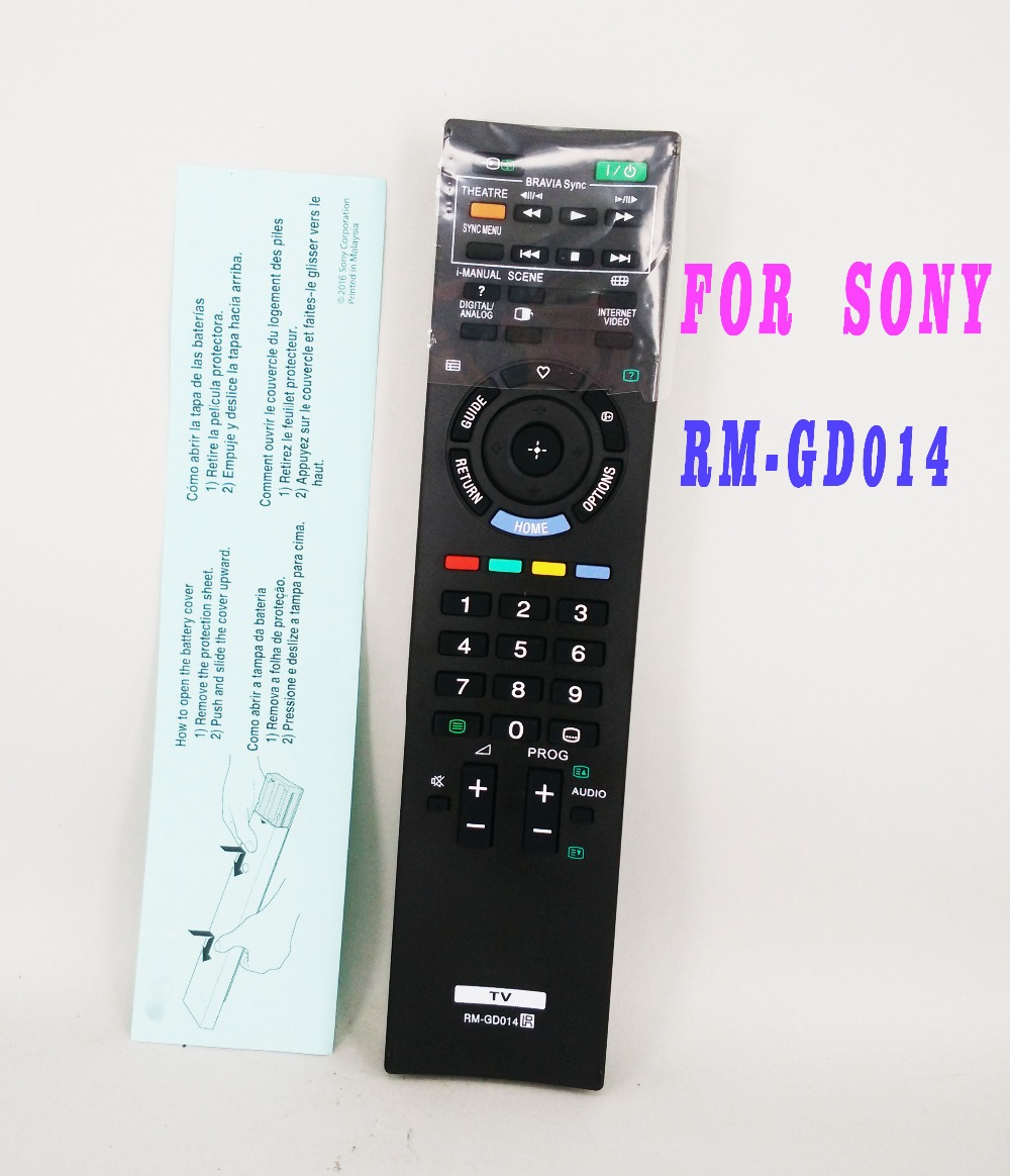 sony tv replacement remote. new replacement remote control for sony rm-gd005 kdl-52z5500 rm-gd014 bravia tv s