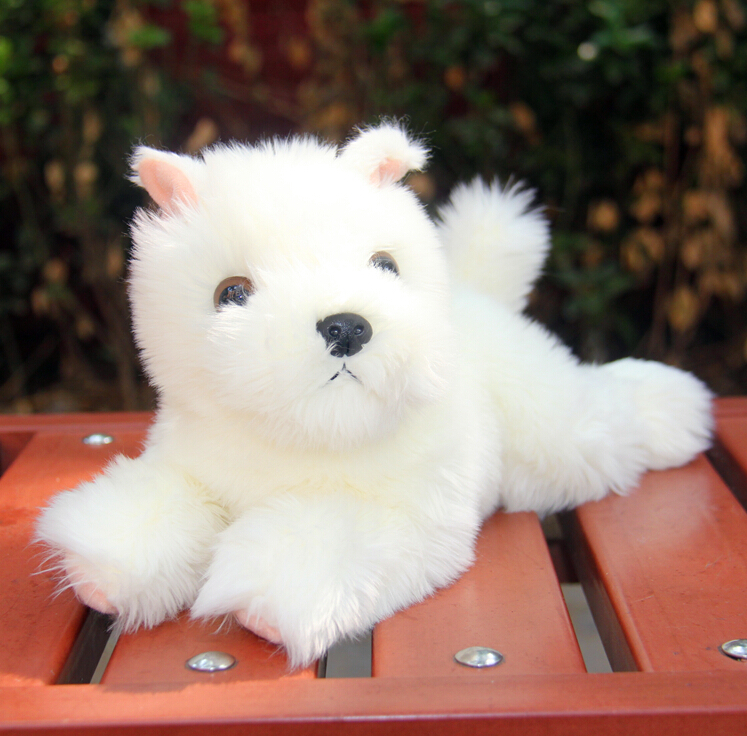 Baby Toy  West Highland White Terrier  Plush Toys  Dog Doll  Car  Ornaments  Birthday Gift<br><br>Aliexpress
