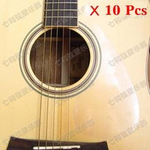 10 Pcs Transparent Clear Folk Acoustic Guitar Pickguard Pick Guard Anti-scratch Plate (TM-YM-10)(China)