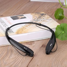 Superior Fit HBS-800 Universal Wireless Bluetooth Sweat-proof Headphone Ring-necked Handsfree Stereo Headset(China)