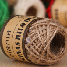 Rope DIY Jute-String Gardening-Cord Home-Decorative-Twine Natural Cords Hemp Wedding-Tag/photo