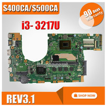 Buy Original ASUS laptop motherboard S400C S400CA REV3.1 I3-3217cpu 4GB USB 3.0 DDR3 Fully tested for $95.00 in AliExpress store