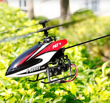 Best Toy NEW MJX F47 2.4G 4ch radio control Single propeller RC Helicopter GYRO a key switch throttle Gift(China)