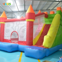 YARD Outdoor Playing Moonwalk Bounce House Inflatable Bouncers for Christmas Kids Gift
