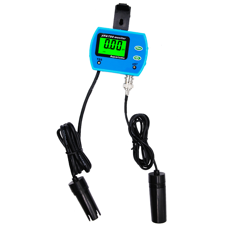 2 in 1 Multi-parameter Water ph Monitor Water Quality test TDS tester Acidometer for Aquarium<br>