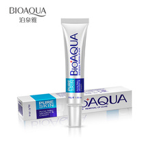 BIOAQUA tube lotion skin care removal of ance oil control whitening Acne treatment Good quality Acne cream for men women 30g(China)