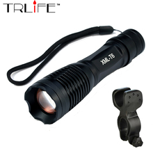 Buy Bicycle Light 8000 Lumens 5 Mode CREE XM-L2 T6 LED cycling Front Light Bike light Lamp Torch Waterproof cycling light+Bick clip for $8.09 in AliExpress store