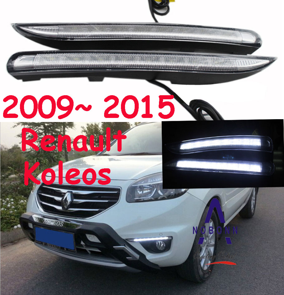 Koleos daytime light;2009~2015, Free ship!LED,Koleos fog light;Koleos,Clio,Duster,Kangoo,logan,saframe,scala,logan<br>