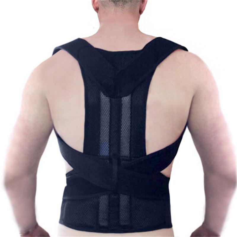 2016 High Quality Shoulder Back Support Posture Corrector Adolescent Humpback Appliance Standing Straighten<br>