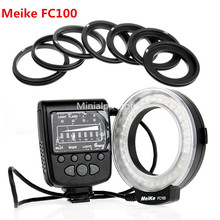 Meike FC-100 LED Macro Ring Flash/Light for Canon T5i T4i T3i T2i T1i 700D 650D fc 100